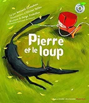 Pierre et le Loup, livre et CD