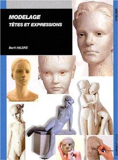 Livre d'apprentissage au modelage des têtes