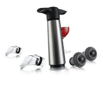 Pompe à vide conservation du vin