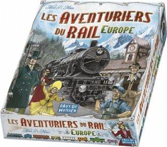 Jeux les aventuriers de rail
