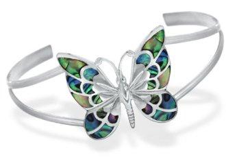 Bracelet Papillon Nacre