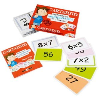 Carta toto Multiplications