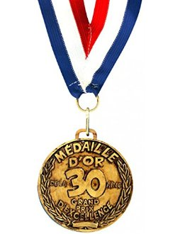 M�daille d'or de la 30 aine