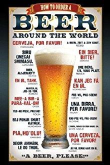 Poster pour commander un bière