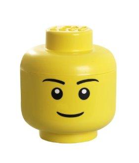 Tête Lego géante