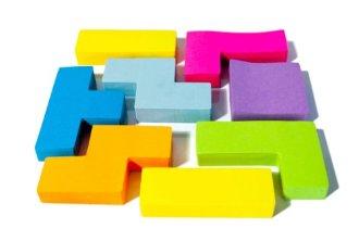 Post it Tetris