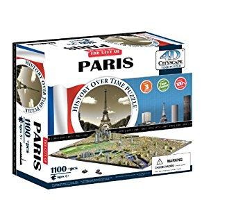 Puzzle 4D grande ville
