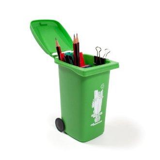 Pot à crayon poubelle