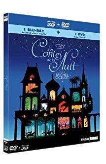 Blu Ray 3D Les Contes de la Nuit + kit d'ombres chinoises