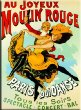 Plaque métal 40X30cm Moulin rouge