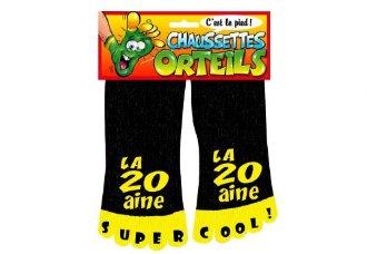 Chaussettes orteils 20 ans
