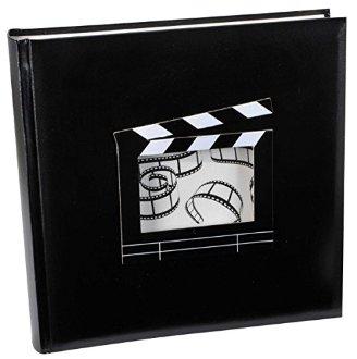 Livre d'or personnalisable fenêtre clap cinéma