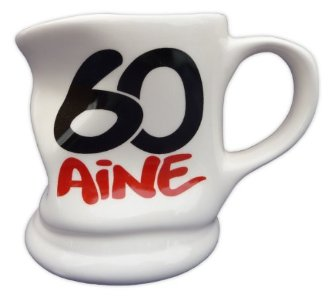 Mug caboss� 60 ans