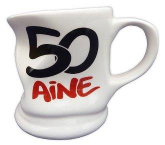 Mug caboss� 50 ans