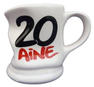 Mug cabossé 20 ans