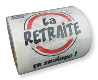 Papier WC La retraite