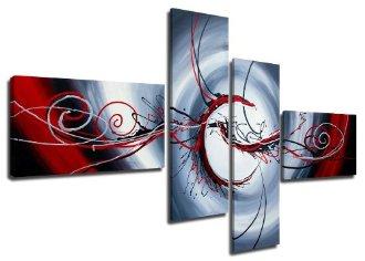 Image sur toile, cadre en bois, originale