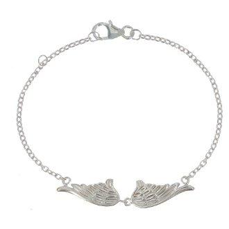 Bracelet ailes d'argent