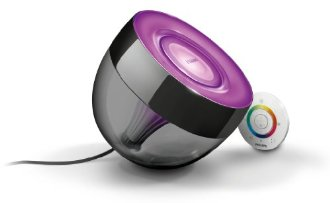 Philips Living Colours Mini Glossy Black