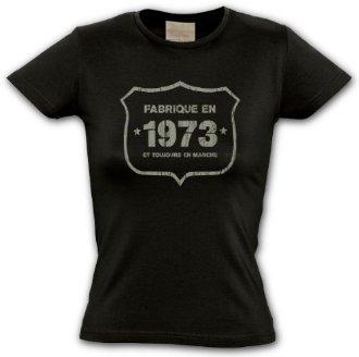 Tee shirt femme 1973