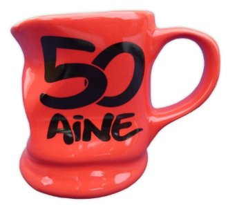 Mug sp�cial 50 ans d�form� rouge