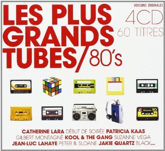 60 tubes des ann�es 80 en 4 CD