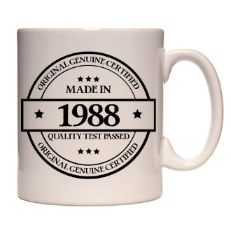 Mug rétro Made in 1988
