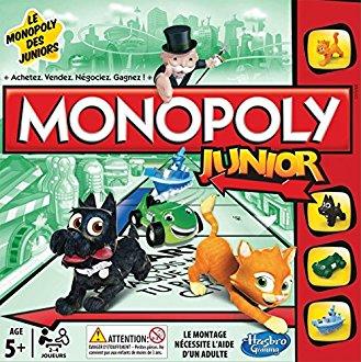 Monopoly Junior 5-7 ans