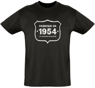 Tee shirt 1954 vintage