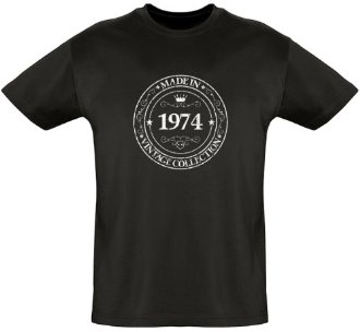 Tee shirt Made in 1974
