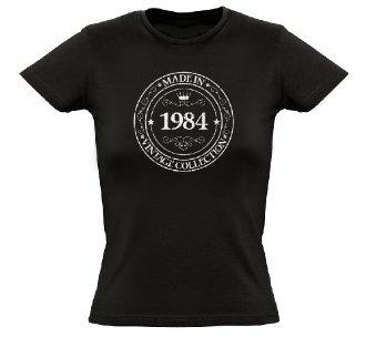Tee shirt femme made in 1984