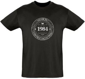 Tee shirt Made in 1984