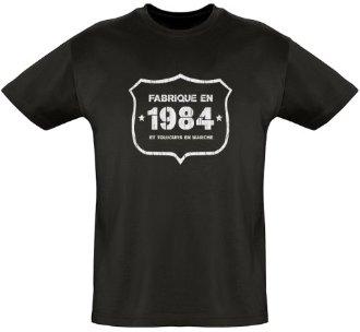 Tee shirt homme 1984 vintage