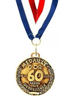Médaille d'or 60 ans