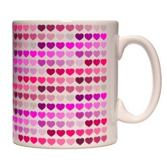 Mug coeurs roses