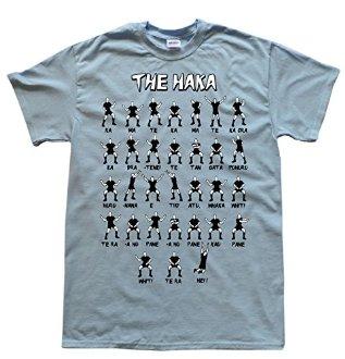 Tee shirt rugby Haka