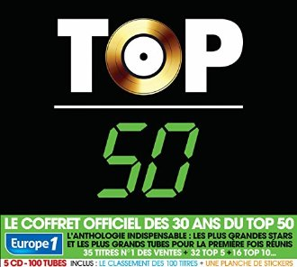 Top 50 le meilleur en 5 CD