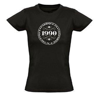 Tee shirt femme 1990