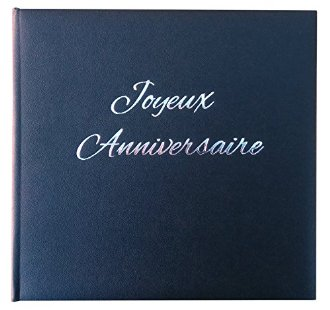 Livre d'or Joyeux anniversaire - Made in France