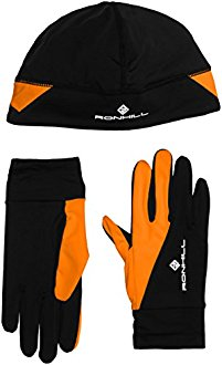 Kit running Bonnet + gants Ronhill