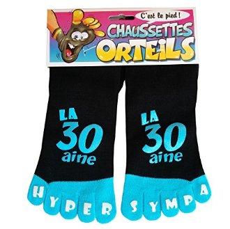 Chaussettes orteils 30 ans