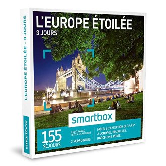 Coffret 3 jours en europe