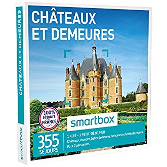 Smartbox Châteaux et demeures de charme