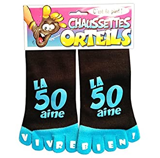 Chaussettes à orteils 50 ans