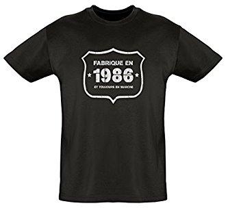 Tee shirt Fabriqu� en 1986
