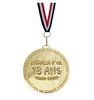 Grande m�daille d'or 18 ans