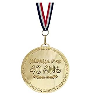 Médaille d'or de la 40 aine