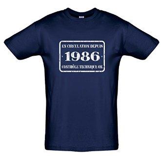 T-Shirt En circulation depuis 1986