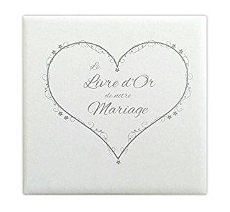 Livre d'or mariage vintage