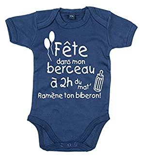 Body bébé humour couleurs au choix